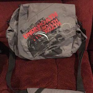 Underoath band messenger bag